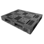 樹脂パレット 物流用 1200×1000×150mm 4方差し片面仕様 中古 リユース 斜め