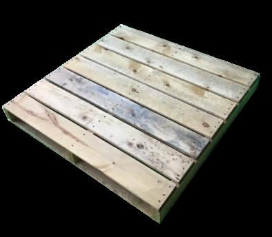 木製パレット 11型 物流用 1100×1100×140mm 2方差し両面仕様 中古 リメイク