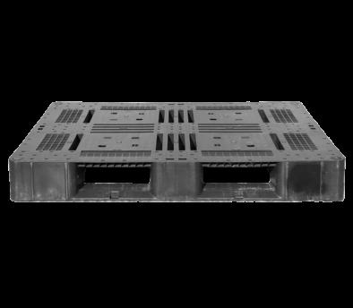 樹脂パレット 物流用 1200×1000×150mm 4方差し片面仕様 中古 リユース 正面