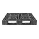 樹脂パレット 物流用 1300×1100×150mm 4方差し片面仕様 中古 リユース 短辺