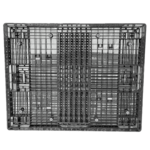 樹脂パレット 物流用 1400×1100×100mm 4方差し片面仕様 中古 リユース 下面