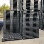 樹脂パレット 物流用 1400×1100×100mm 4方差し片面仕様 中古 リユース 在庫状況