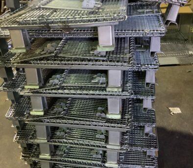 メッシュボックス パレティーナ 800*500mm 折り畳み可能 中古 リユース 在庫状況