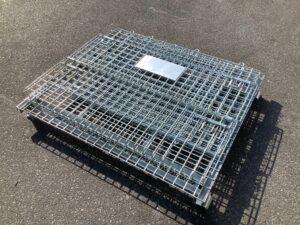 メッシュボックス パレティーナ 1200*1000mm 折り畳み可能 中古 リユース