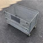 メッシュボックス パレティーナ 800*500mm 折り畳み可能 中古 リユース