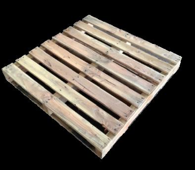 木製パレット 物流用 1000×1000×140mm 2方差し両面仕様 中古